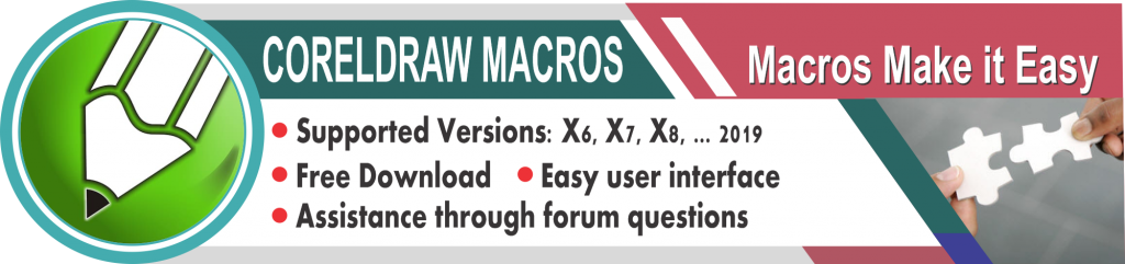 Download CorelDraw Macros