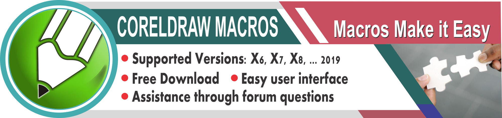 Download CorelDraw Macros