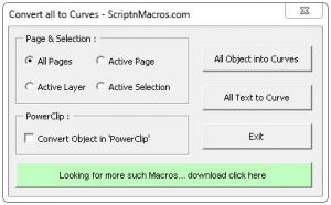 Convert oll objects to curves