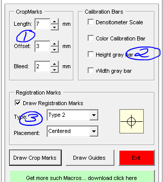 Guides and Crop Marks Maker – CorelDraw Macro