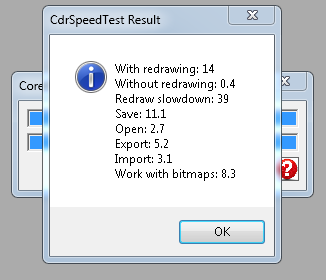 CorelDraw Speed Test Macro – Measure CorelDraw Performance
